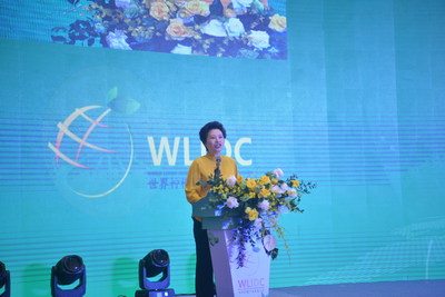 Wu Xu addresses the conference