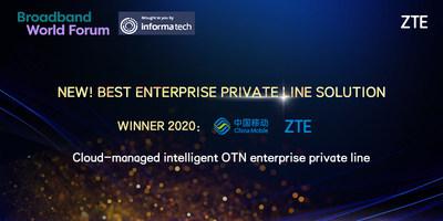 Best Enterprise Private Line Solution Award