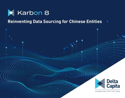 """Karbon 8 is the latest proprietary technology solutions Delta Capita has brought to market, reinventing how we source and access KYC data for China entities. Learn more on how Delta Capita can partner and work with you in """"reinventing"""" your value chain. Let's Reinvent."""