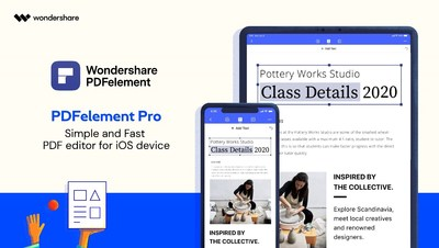 Wondershare PDFelement Pro is here with Advanced PDF Editing Functions for iOS