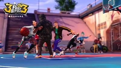 《3對3街頭籃球: 反彈》在韓國及港澳臺地區正式發行!
