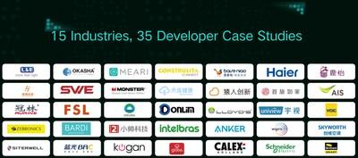 15 Industries, 35 Developer Case Studies