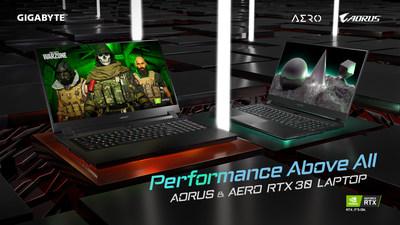技嘉科技推出全新RTX 30系列筆電
