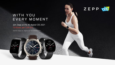 Join Zepp at the All-Digital CES 2021