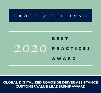 2020 Global Digitalized Roadside Driver Assistance Customer Value Leadership Award