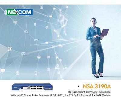 NEXCOM NSA 3190A Designed with 2.5G Ethernet for Wi-Fi 6