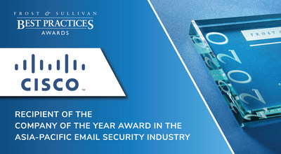 """Cisco has one of the most comprehensive email security solutions in the market. It covers all of the major functions, such as blocking and detecting threats and defending against phishing, spam, and data contained within emails,"" said Lim Qi Yong, Associate, ICT Practice at Frost & Sullivan."