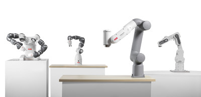 ABB boosts the new collaborative robot portfolio with GoFa™️ and SWIFTI™️