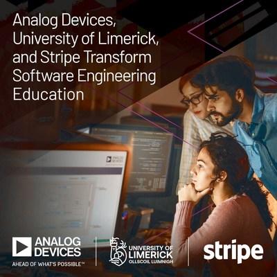 ADI與利默里克大學和Stripe共推工程教育變革