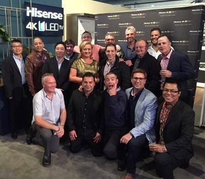 海信澳洲副總裁Tania Garonzi女士帶領團隊在居家令期間取得驕人銷售業績