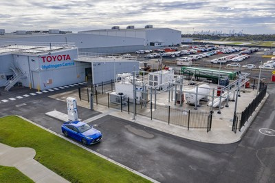 Toyota has unveiled Victoria's first hydrogen production, storage and refuelling facility at the Centre of Excellence