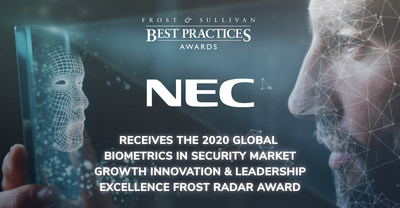 NEC remains the global biometrics industry leader. It has expanded customer experience use cases, not just in winning and executing projects but also in project promotion. Such an approach showcases NEC's broader understanding of the authentication needs of other industries.