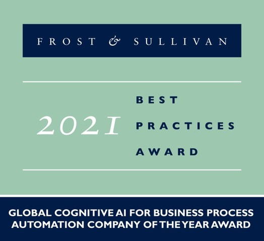 2021 Global Cognitive AI for Business Process Automation Company of the Year Award