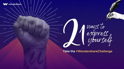 Wondershare Launches Creative Campaign on Social Media: 21 Ways to Express Yourself