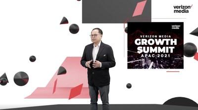 Verizon Media 亞太區銷售董事總經理陳啟滔先生致歡迎辭
