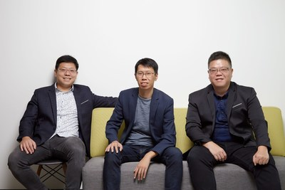 CyCraft Leadership (right to left): Benson Wu, CEO; Jeremy Chiu, CTO; PK Tsung, CSO