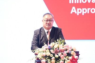 PMI(中國)董事總經理陳永濤的致辭聚焦於中國組織和個人如何獲得發展新動能。