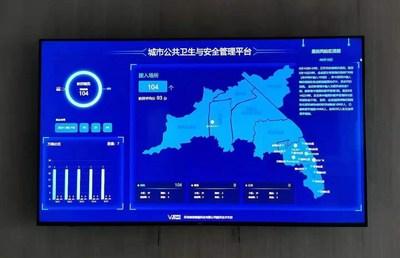 本地政府使用的 VeTrust 儀表板視覺化工具