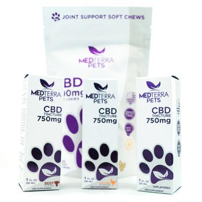 Medterra CBD Pet Products
