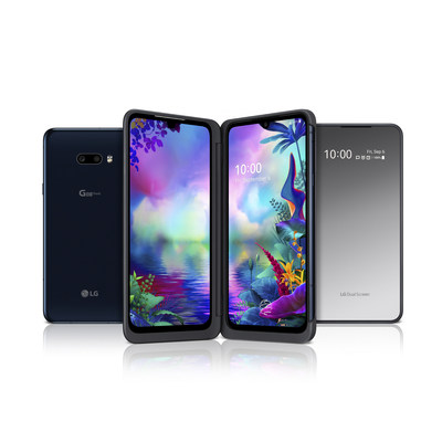 LG G8X ThinQ Dual Screen (CNW Group/LG Electronics Canada)