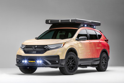 Honda is celebrating 60 years of business in America with an intriguing lineup of new concepts, custom builds and vintage vehicles in its booth at the 2019 SEMA Show next week.