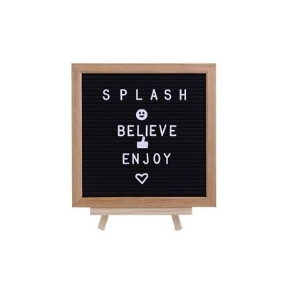 Splash Wood/Fabric Letter Board, $19.98 (CNW Group/Staples Canada ULC)