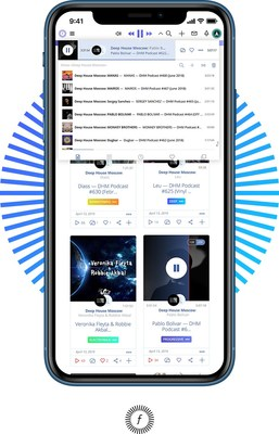 Global electronic music streaming service issues coin on Minter network