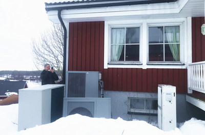 The application of PHNIX R32 Inverter EVI Heat Pump in Northern Europe