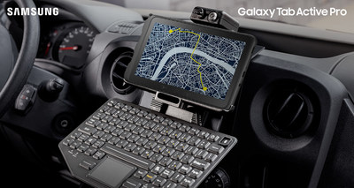 Galaxy Tab Active Pro - On The Go (CNW Group/Samsung Electronics Canada)