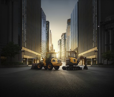 The Volvo L25 Electric and the ECR25 Electric.