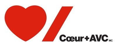 Logo: Heart and Stroke Foundation (CNW Group / Heart and Stroke Foundation)