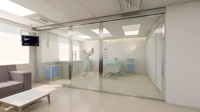 Instantly make medical facilities, schools, hotels and public spaces more hygienic with smart glass technology.