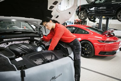 Porsche offers three-month extension for warranties expiring before the end of May to help ensure customer mobility. (PRNewsfoto/Porsche Cars North America, Inc.)