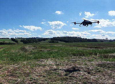 XAG Drone Seeding to Help Vegetation Regeneration in Australia