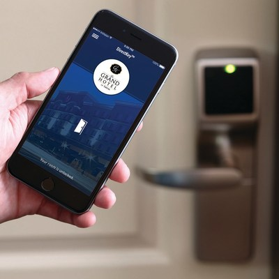 Onity's DirectKey solution gives guests easy access to their room and other access-controlled areas.