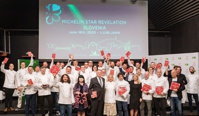 Slovenian Tourist Board: First Six Michelin Star Restaurants in Slovenia (PRNewfoto/Slovenian Tourist Board)