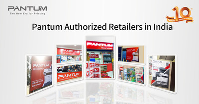 Pantum authorized retailers in India