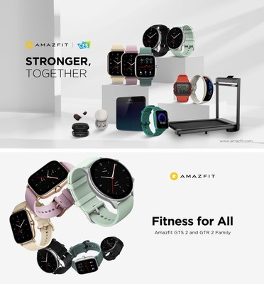 Amazfit Showcases its Vision for Fitness Tech and Wearables at CES 202