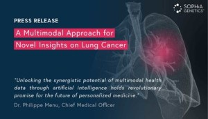 SOPHiA GENETICS and the Spanish Lung Cancer Group Join Forces to Explore the Predictive Possibility of Multimodal Health Data in Resectable Stage IIIA Non-Small Cell Lung Cancer