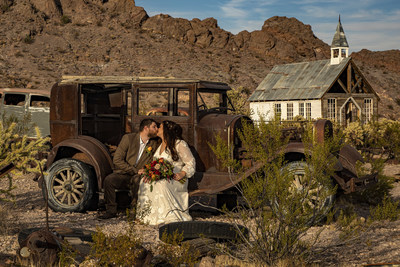 Get Married at a real Ghost Town Wedding Chapel. All inclusive packages available including minister, photographer, video of ceremony, flowers and free limo transportation.