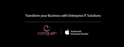 Conquer | Apple Authorised Enterprise Reseller