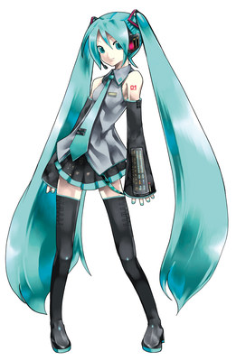 Graphic India announces a new animated TV series with Hatsune Miku