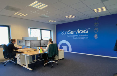 The new SunServices™ Center in Breda, the Netherlands, expands service and support capabilities for Sun Nuclear's rapidly growing customer base in EMEA, as well as India.