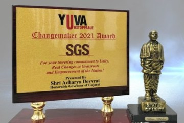 SGS India Conferred The Changemaker Award 2021 For Development Work Undertaken In Government Schools Across India