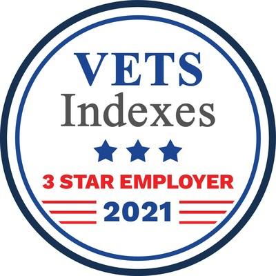 Vectrus Indexes 3 Star - Vectrus Receives Inaugural VETS Indexes 3-Star Employer Award