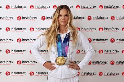 Six-time world swimming champion Yulia Efimova became an InstaForex brand ambassador