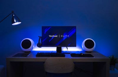 """ViewSonic recognized the demand for widescreens and announces a new collection of ViewSonic ELITE™ 32"""" professional gaming monitors geared up with the latest display technologies."""
