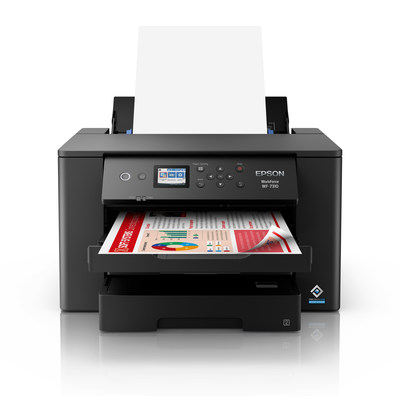 Delivering print-shop quality graphics to tackle a range of content tasks, the new WorkForce Pro WF-7310 allows small workgroups to enhance productivity by streamlining workflows and accomplishing deliverables in no time.