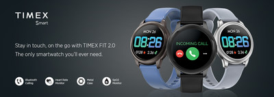 Timex Launches its Bluetooth Calling Enabled Smartwatch – TIMEX FIT 2.0
