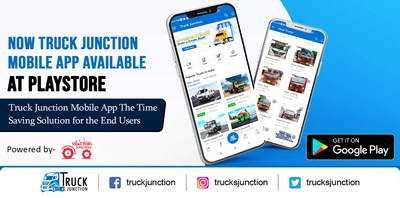 Truck Junction Mobile App (PRNewsfoto/Farmjunction Marketing Private Limited)